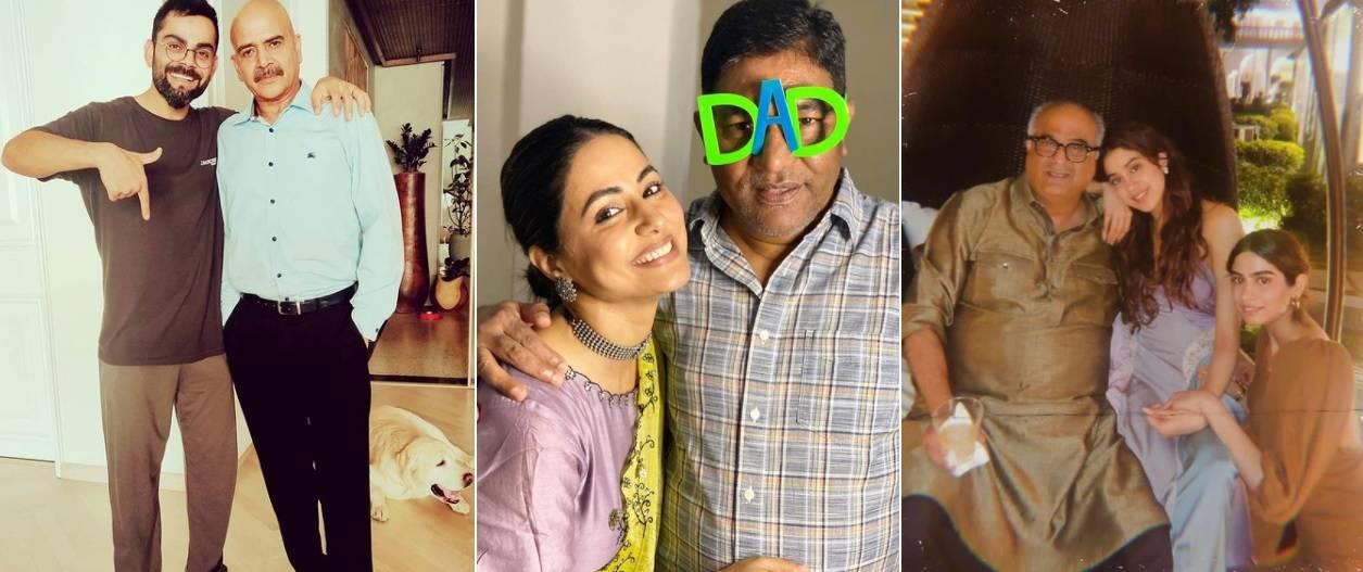 Photo of Father's Day: Celebs tell father the hero of their life, celebs are expressing with special pictures