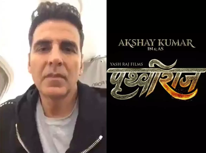 Photo of Controversy over the name of the film 'Prithviraj', Akshay Kumar's statue burnt in Chandigarh