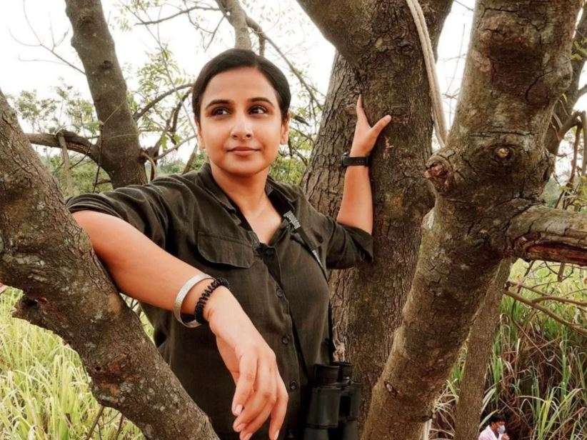 Photo of Vidya Balan told her first salary, 'I got so much money for taking photos with trees'