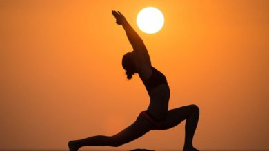 Photo of Yoga can keep the mind and body healthy