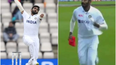 Photo of Bumrah lost everything, changed his shirt and started playing;  Finished when I realized the mistake!