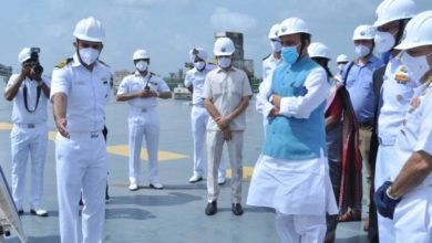 Photo of INS Vikrant will be dedicated to the 75th anniversary of independence;  Defense Minister Rajnath Singh in Kochi