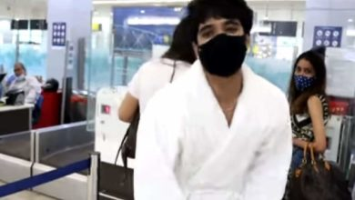 Photo of Came to the airport in shorts;  Employees block YouTube