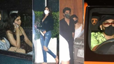 Photo of Arjun Kapoor celebrates 36th birthday with sisters and friends at Mumbai's Five Star Hotel