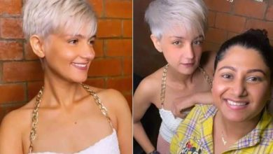 Photo of Amazing transformation of Salman Khan's sister, platinum hair is looking bold