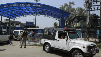 Photo of 'Terrorist attack at Jammu airport': police say they bombed drones
