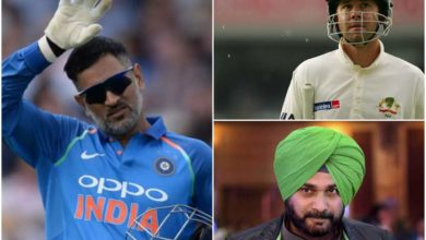 Photo of Dhoni drinking 5 liters of milk, Sidhu hitting the referee on the head;  'Lies' in the world of cricket !!