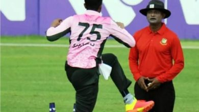 Photo of I can not take it anymore;  The referee, who was the victim of Shakib's call, resigned