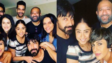 Photo of Mandira-Raje had a party with friends on Sunday, Neha Dhupia shared the last picture