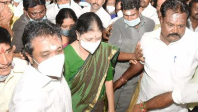 Photo of More than 500 threatening calls;  Case against Shashikala due to a complaint from the former AIADMK minister