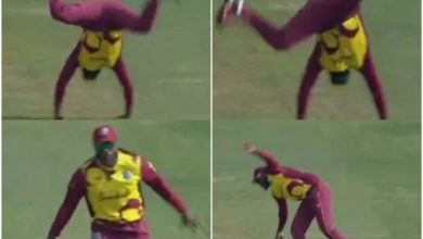 Photo of Chris Gayle celebrates and surprises;  Even at the age of 41, this man is crazy in the field!