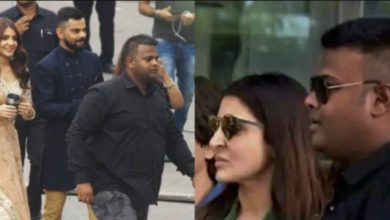 Photo of Anushka's bodyguard Sonu lives with you like a shadow, you will be shocked to hear the salary