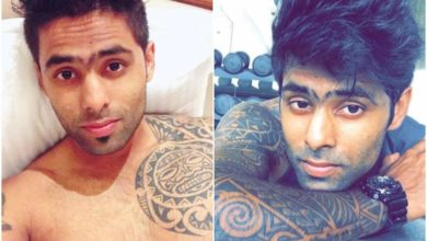 Photo of Suryakumar Yadav's Tattoo Illusion;  Tattoos all over the body, each one has a great meaning!