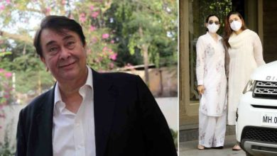 Photo of Feeling lonely, Randhir Kapoor came to live with the daughters, a new house of 3000 square feet