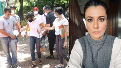 Photo of Mandira Bedi trolled over husband's funeral, called people's comments disgusting