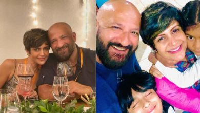 Photo of Mandira Bedi remembers the happy moments spent with her husband, shared special pictures with Raj