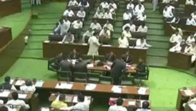Photo of Insult to the speaker;  12 BJP MLA Banned for a Year in Maharashtra