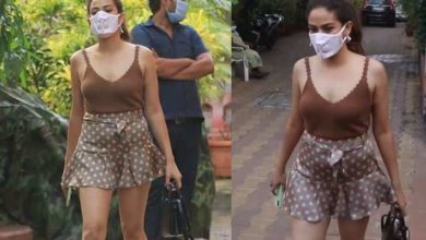 Photo of Mira Rajput wore a very short skirt, people asked 'You wore your daughter or not?'