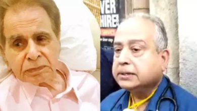 """Photo of Dilip Kumar's doctor said, """"We wanted him to live for 100 years."""""""