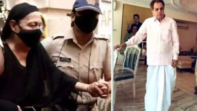 Photo of Video of woman crying outside Dilip Kumar's house goes viral, told relative!