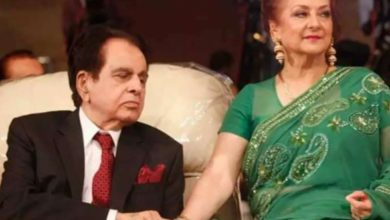 Photo of After 15 years of marriage, Dilip Kumar left Saira and got married again. Asma Sahiba became his second wife.