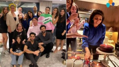 Photo of 63-year-old Neetu Kapoor attended the birthday celebration with the whole family
