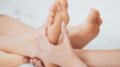Photo of Relieve headaches by massaging your feet!