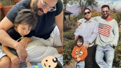Photo of 'Baby Pataudi' gets the name, this is how Saif-Kareena Kapoor call their son love