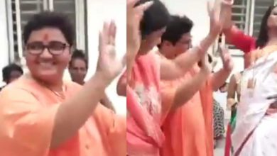 Photo of Pragya told the court that he could only travel in a wheelchair;  The dance video continued
