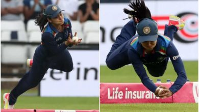 Photo of This is one of the best catches in world cricket;  Surprisingly Harleen Deol !!