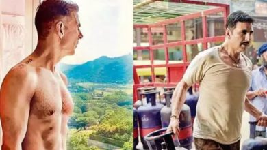 Photo of Akshay Kumar, the fittest actor, gained weight for 'Rakshabandhan', said- got a chance to eat pudding of mother's hand
