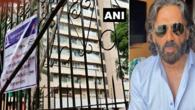 Photo of Apartment sealed where Suniel Shetty lives, 3 positive cases of Delta variant found