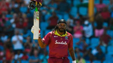 Photo of Gayle smashes sixes to beat the West Indies in the T20 series