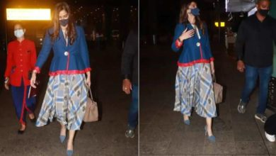 Photo of Sonam Kapoor pregnant after three years of marriage?  Fans were confused after seeing these pictures