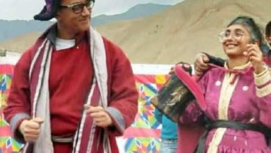Photo of Dressed in the colors of Ladakh, Aamir Khan-Kiran Rao performed folk dance in traditional attire