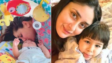 Photo of Younger brother Jah is as cute as Taimur, picture with mom Kareena Kapoor goes viral