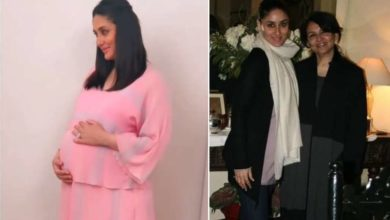 Photo of Pregnant Kareena Kapoor fainted during photoshoot, mother-in-law Sharmila gave this advice regarding work