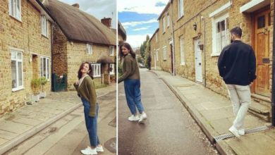 Photo of Anushka Sharma got a 'fan' while roaming the streets of London, was happy to take a photo