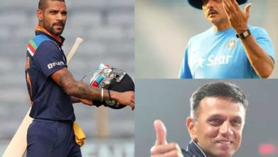 Photo of Ravi Shastri or Rahul Dravid?  Shikhar Dhawan open his mind to be the best