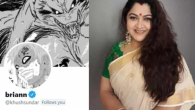 Photo of BJP leader Khushboo's Twitter account hacked