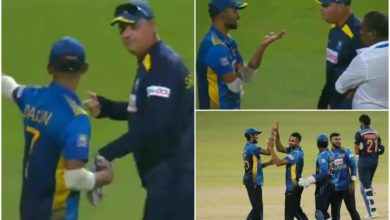 Photo of Shocking defeat against India;  Stoppage between coach and captain of Sri Lanka
