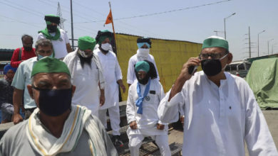 Photo of Dharna Farmers Parliament from today;  Extreme caution in the capital