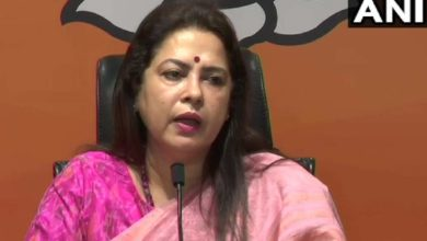 Photo of 'They are not farmers, they are thugs': Union Minister Meenakshi Lekhi against agitators farmers