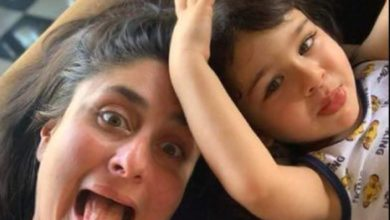 Photo of What does Kareena feed Taimur for breakfast?  Sharing the photo said- 'Tim's plate is always full'