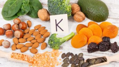 Photo of The body needs vitamin K;  The main nutrient behind blood clotting.