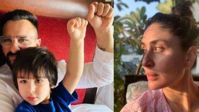 Photo of Fan requests Saif Ali Khan to do a film with Taimur, Kareena does not like the actor's reply