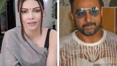 Photo of 'Raj Kundra breaks up at home and forcibly kisses', serious allegations made by Sherlyn Chopra