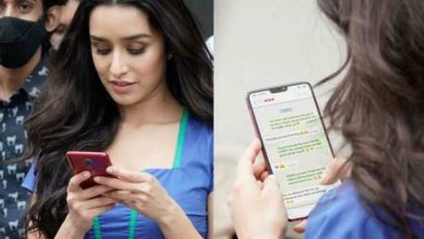 Photo of Shraddha Kapoor's personal WhatsApp chat leaked, was messaging a special person