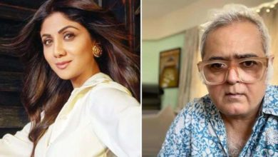 Photo of Filmmaker Hansal Mehta questions Bollywood's silence in support of Shilpa Shetty