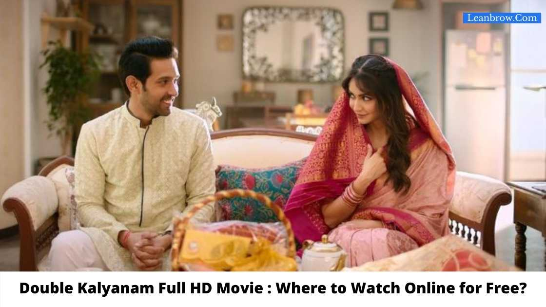 Double Kalyanam Full HD Movie : Where To Watch Online?